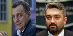 Zoran Zivkovic i Dusan Petrovic